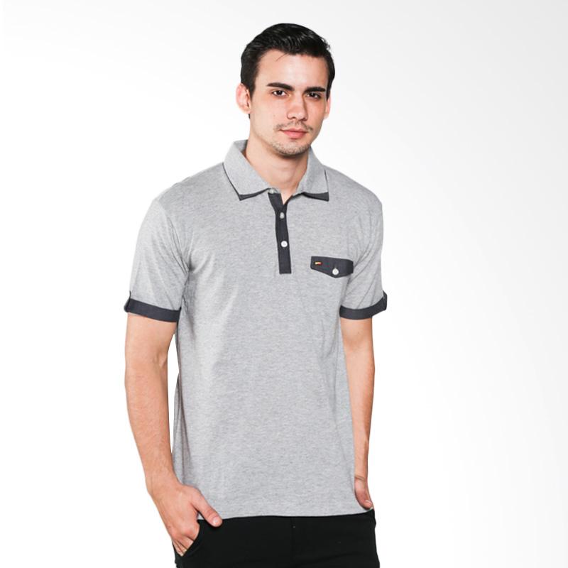 Ocean Line 18102390DN Grey Polo Shirt Extra diskon 7% setiap hari Extra diskon 5% setiap hari Citibank – lebih hemat 10%