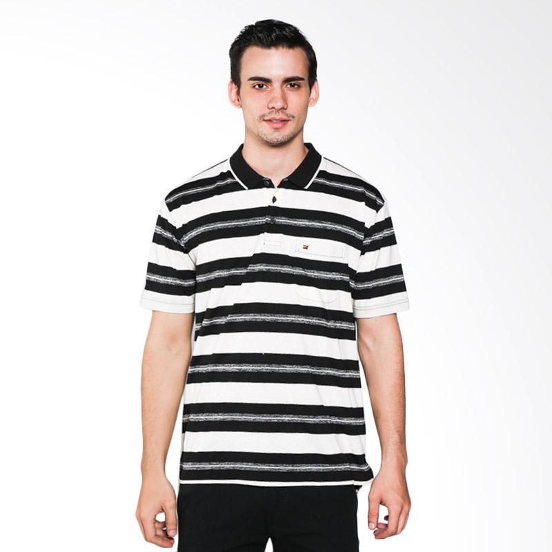 Ocean Line 18102693TN Black White Polo Shirt Extra diskon 7% setiap hari Extra diskon 5% setiap hari Citibank – lebih hemat 10%