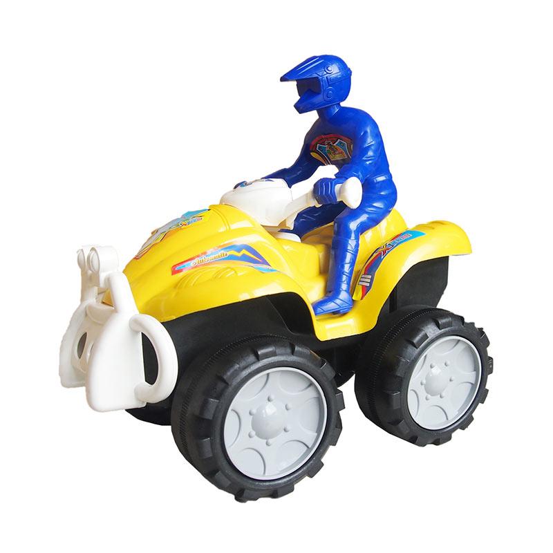 harga Motor ATV + Orang Mainan Anak Ocean Toy - Kuning [OCT6007BC] Blibli.com