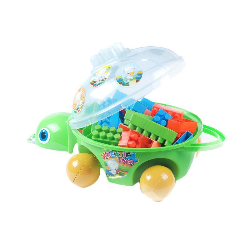 Ocean Toy Kura-kura Hijau Mainan Anak