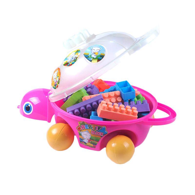 Ocean Toy Kura-kura Pink Mainan Anak