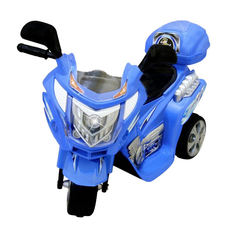 harga Ocean Toy Ride On Motor Aki Tornado - Biru - Mainan Anak - Pulau Jawa Only Blibli.com