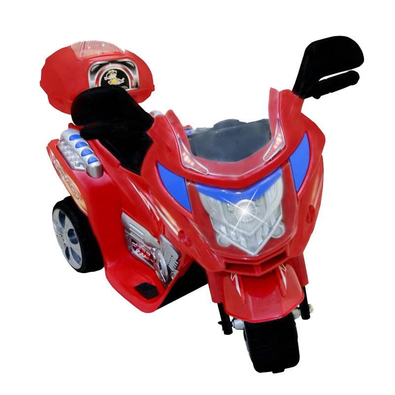harga Ocean Toy Ride On Motor Aki Tornado - Merah - Mainan Anak - Jabodetabek Only Blibli.com