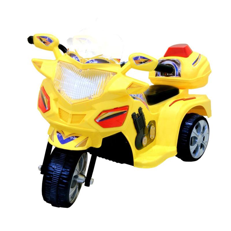 harga Ocean Toy Ride On Motor Aki Halilintar Kuning Blibli.com