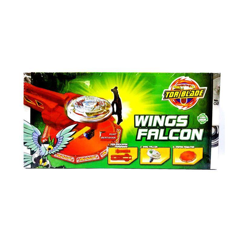 Tor Blade Starter Kit Wings Falcon Gasing Petarung Mainan Anak