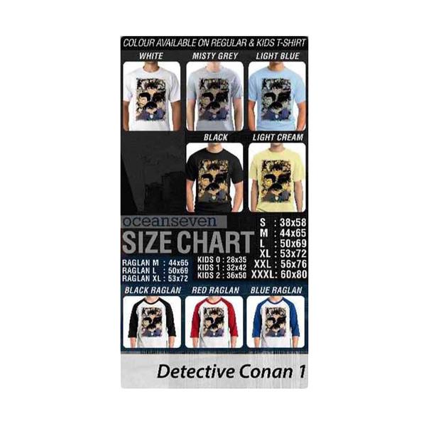 Oceanseven Detective Conan 01 T-shirt Extra diskon 7% setiap hari Citibank – lebih hemat 10% Extra diskon 5% setiap hari