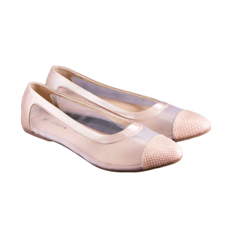 Odette Chloe Beige Sepatu Wanita
