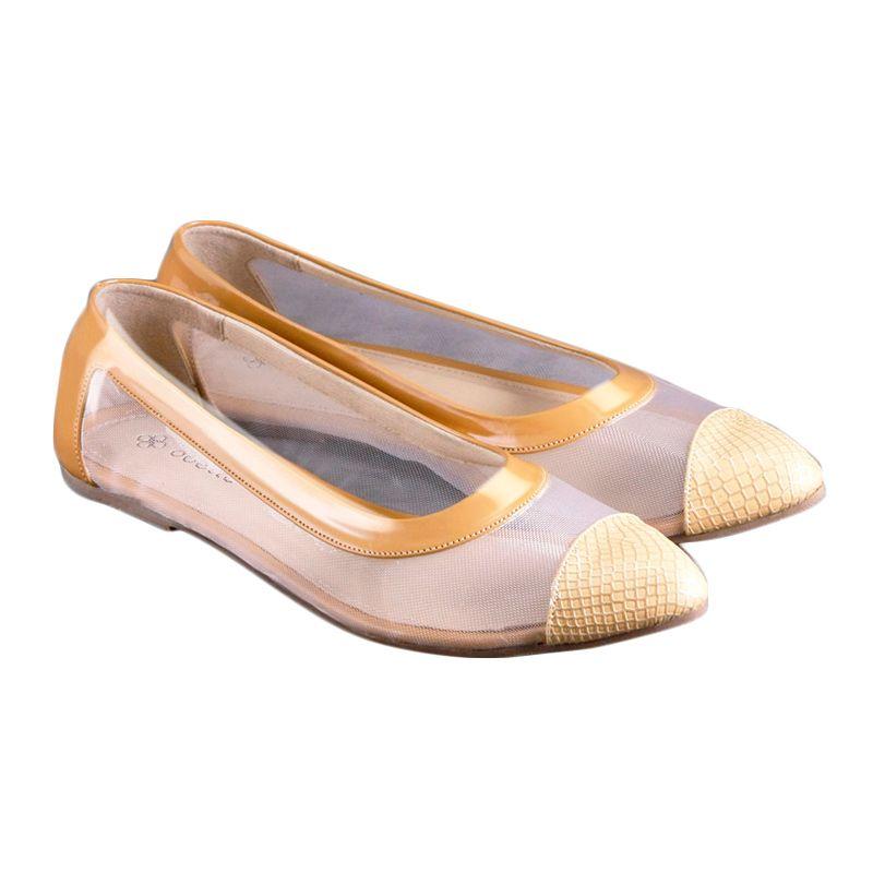 Odette Chloe Mustard Sepatu Wanita