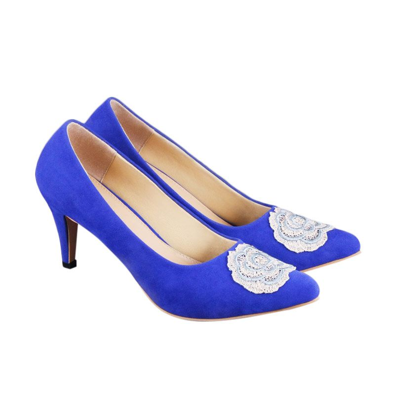 Odette Daffodil Blue Sepatu Wanita