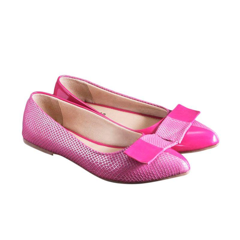 BNI - Odette Phoebe Fuchsia Sepatu Wanita