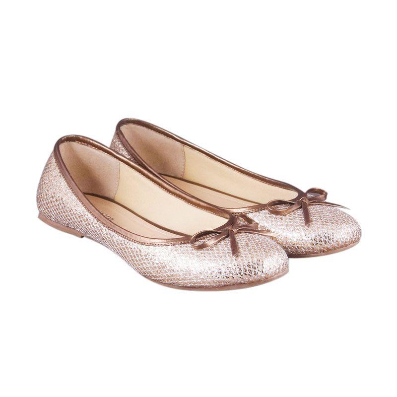 Odette Rachel Gold Sepatu Wanita
