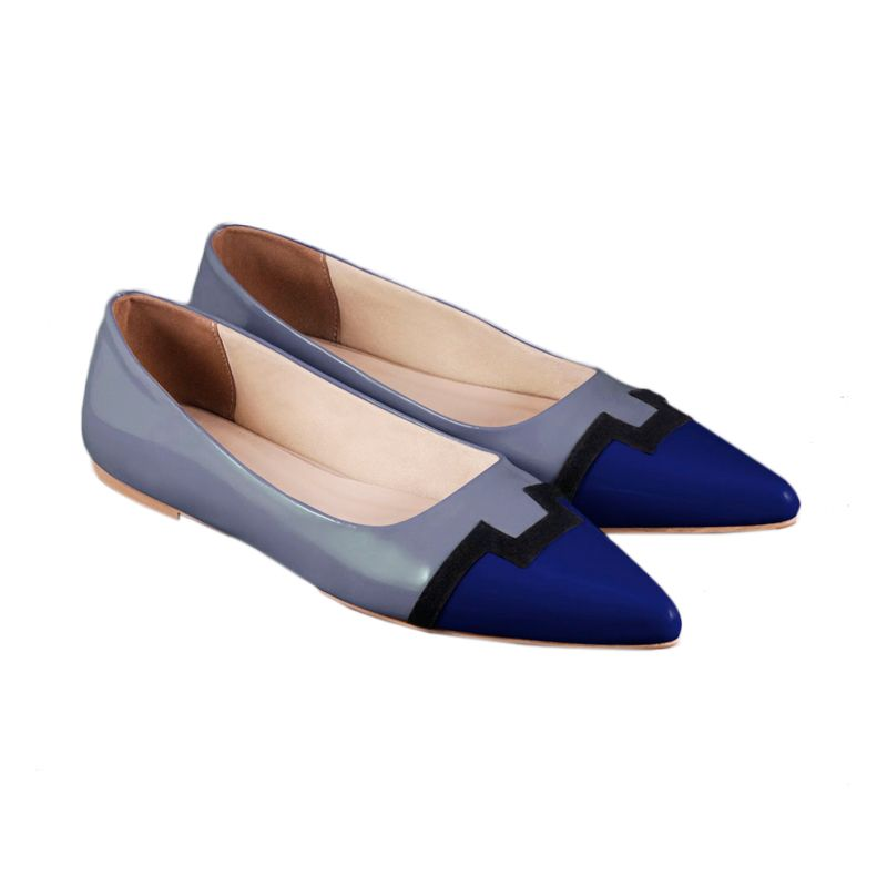 Odette Shoes Adhelle Blue Sepatu Wanita