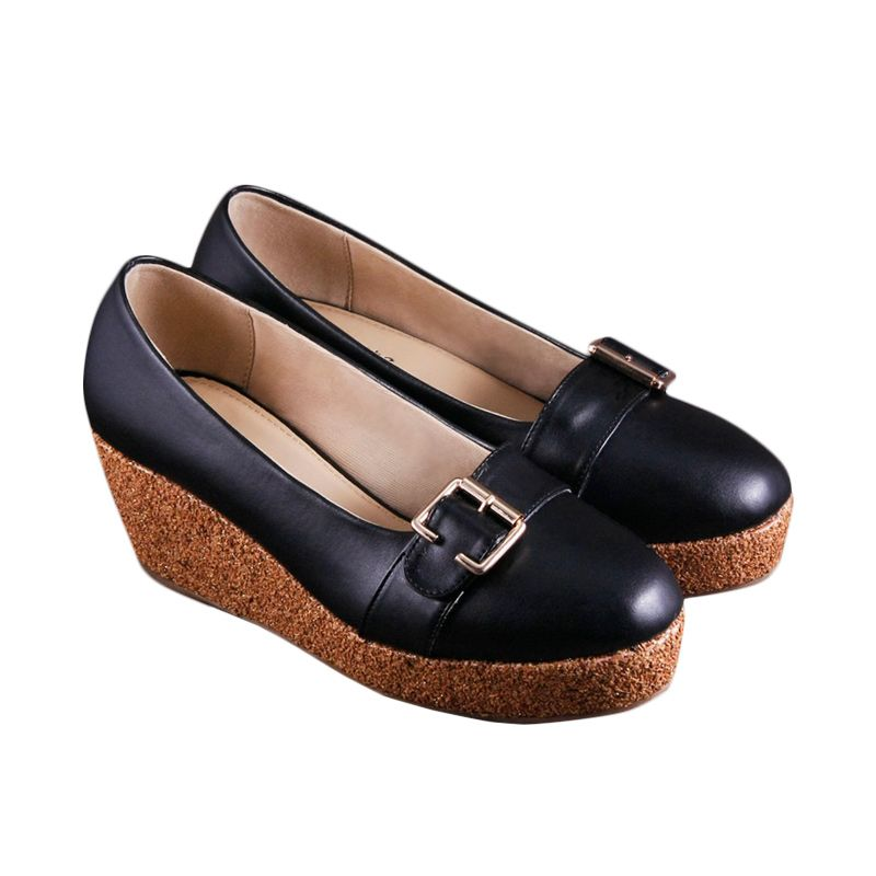 Odette Shoes Afra Black Sepatu Wanita