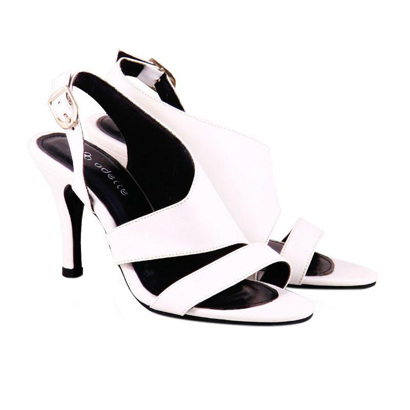 Odette Shoes Audrey White Sepatu Wanita