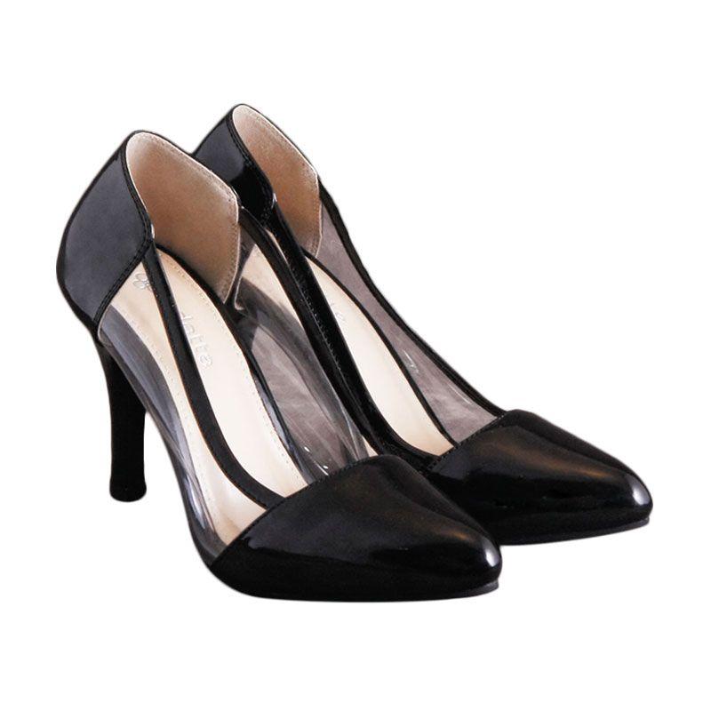 Odette Shoes Aurora Black Sepatu Wanita