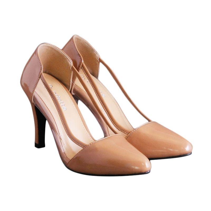 Odette Shoes Aurora Nude Sepatu Wanita