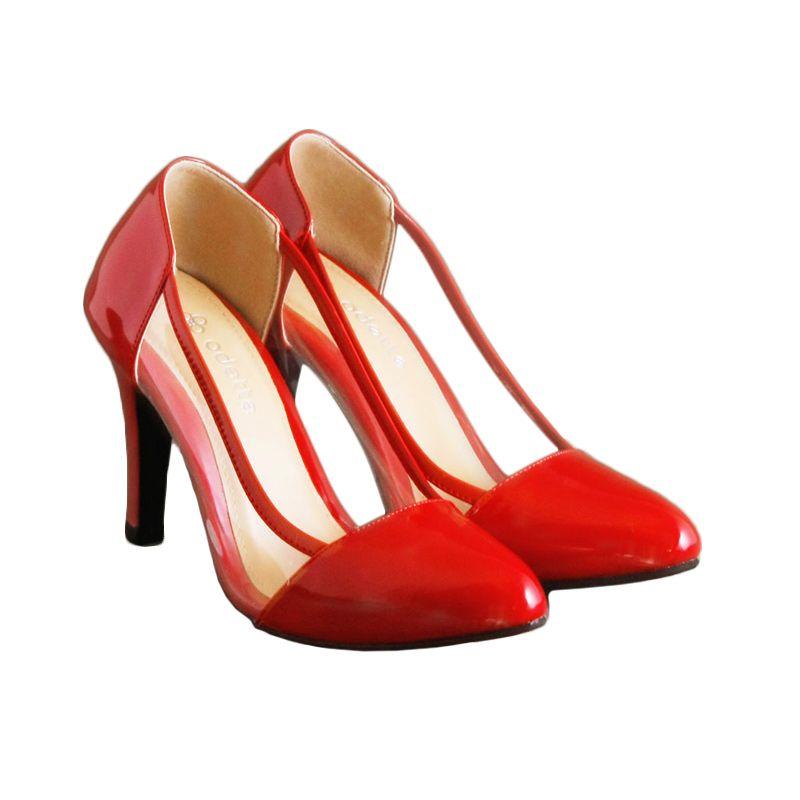 Odette Shoes Aurora Red Sepatu Wanita