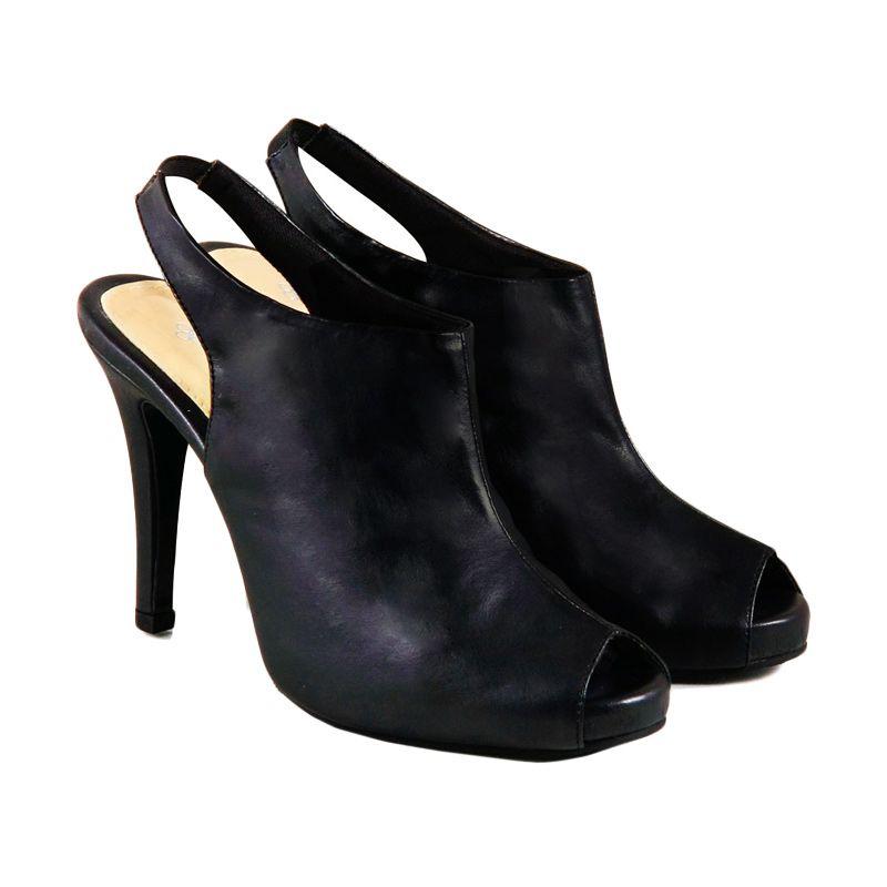 Odette Shoes Avril Black Sepatu Wanita