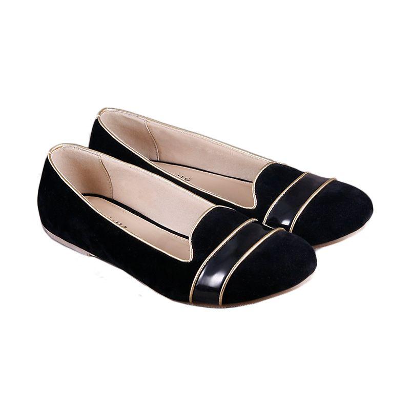 Odette Blaire Black Sepatu Wanita