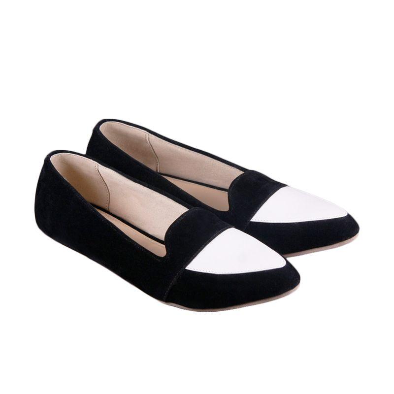 Odette Shoes Clara Black Sepatu Wanita