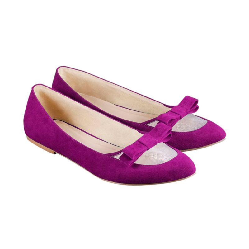 Odette Shoes Fifi Purple Sepatu Wanita