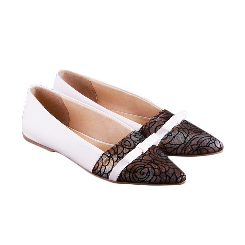 Odette Mistletoe White Sepatu Wanita