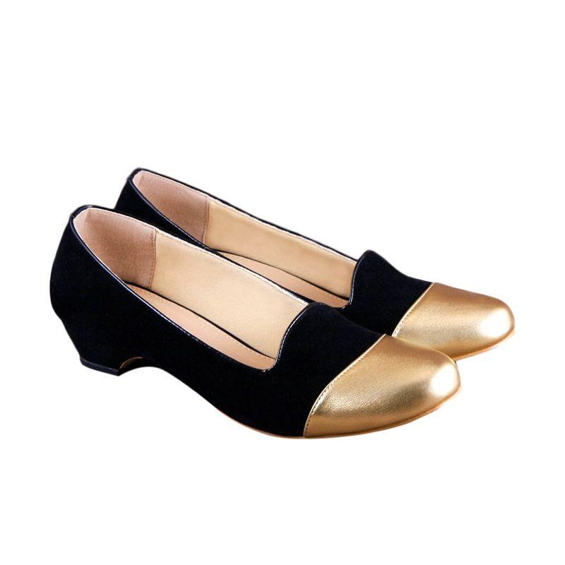 Odette Shoes Pixy Black Sepatu Wanita