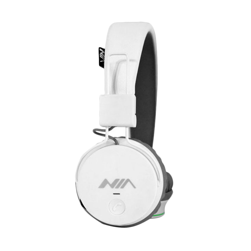 NIA X2 Multifunction Wireless Bluetooth Headphone - Putih