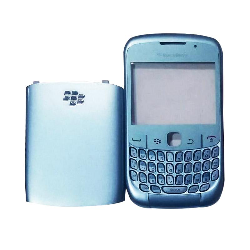 harga OEM Housing Casing for BlackBerry Gemini Curve 8520 - Biru [Depan Belakang] Blibli.com