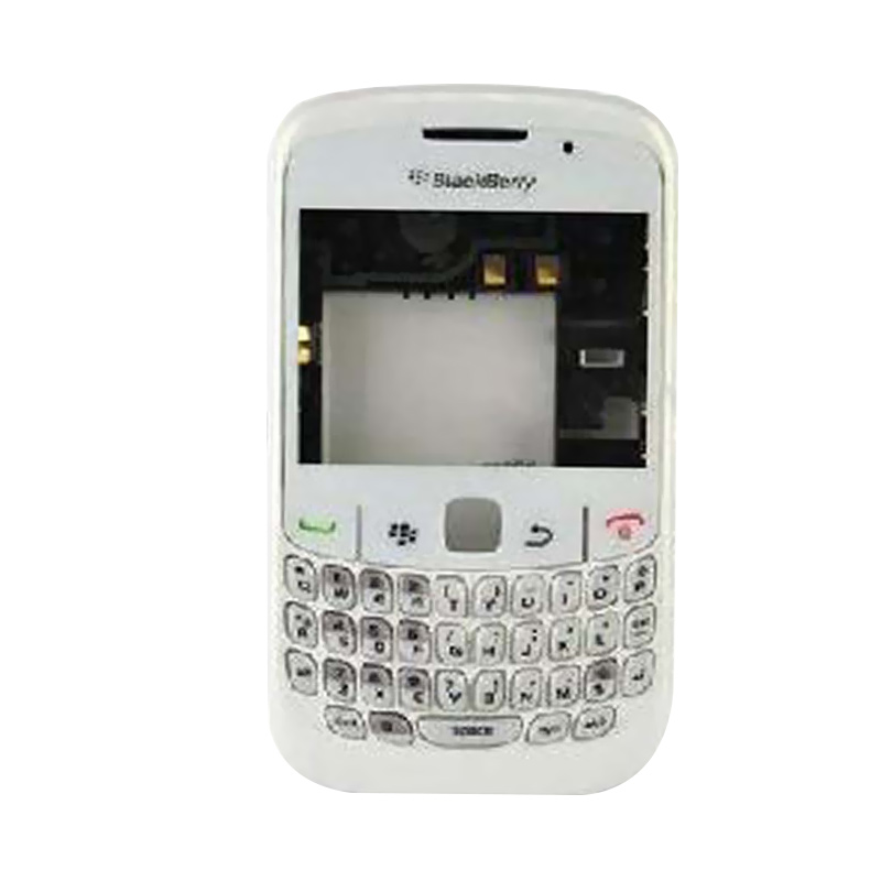 harga OEM Housing Casing for BlackBerry Gemini Curve 8520 - Putih [Fullset] Blibli.com