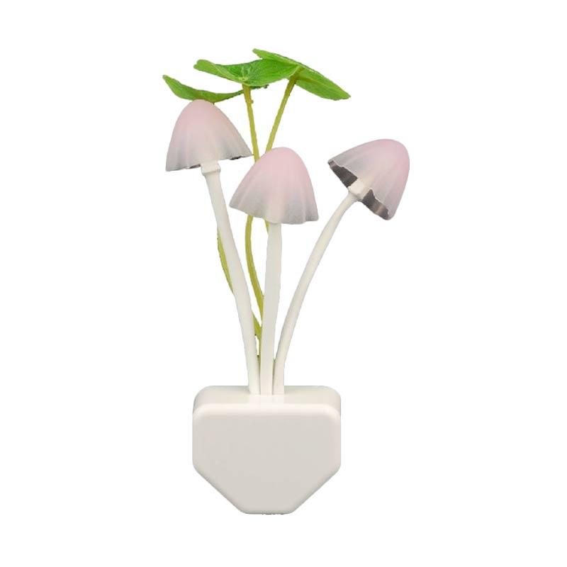 Hanakei Multi Color LED Lampu Jamur ( Bed Lamp Mushroom)