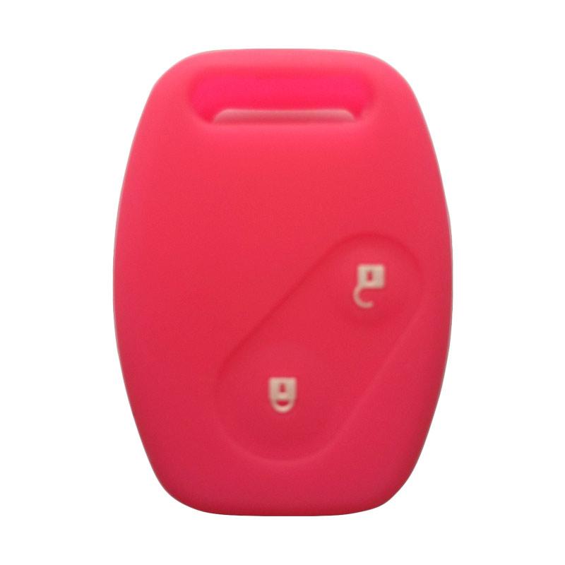 OEM Sarung Kunci Silikon Honda Brio - Pink