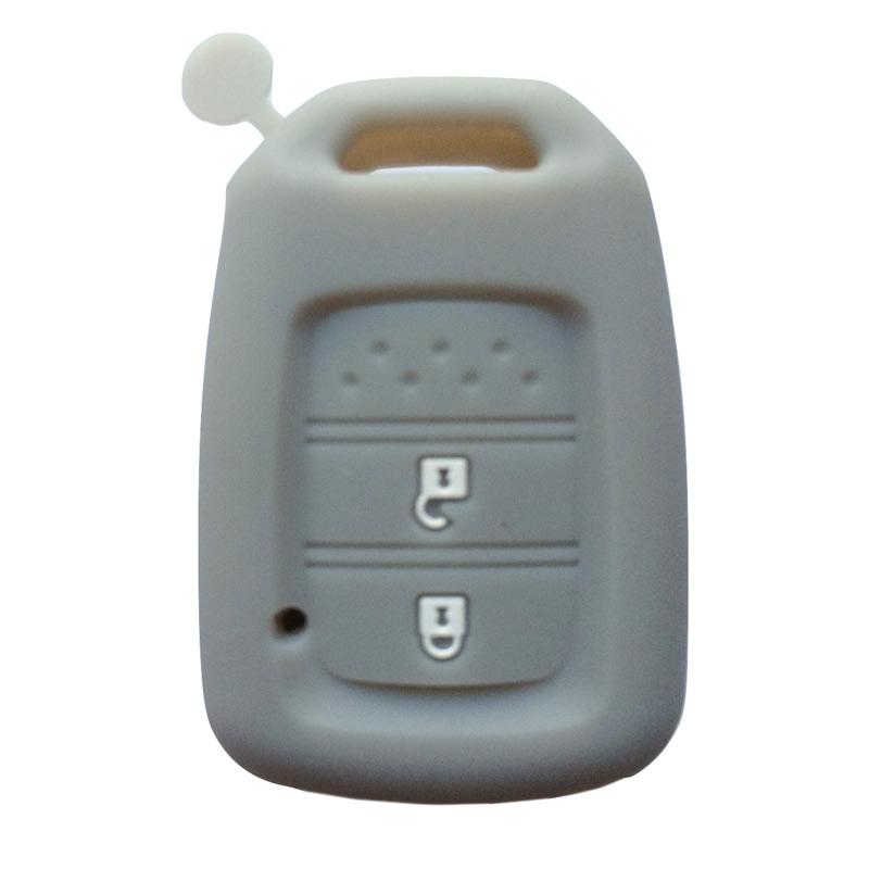 OEM Sarung Kunci Silikon untuk Honda BR-V - Abu Abu