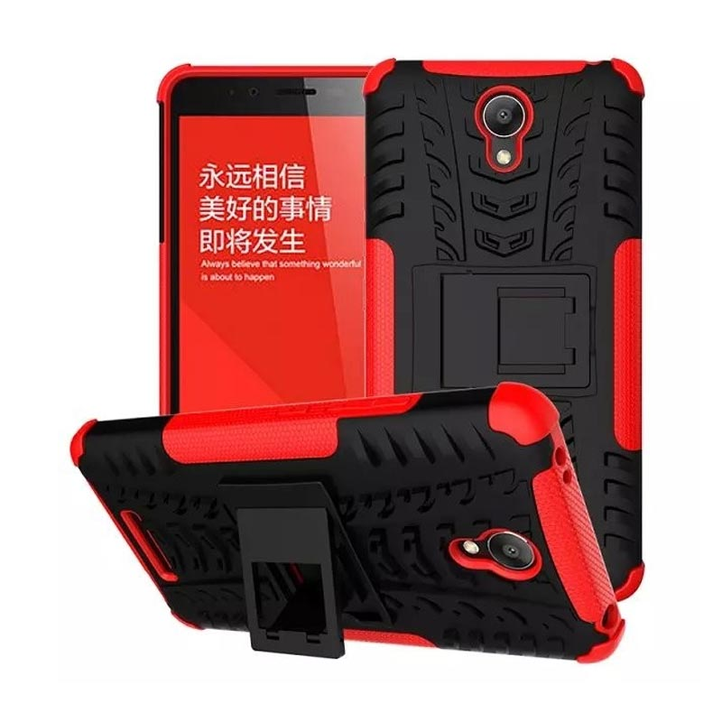 OEM Transformer Robot Stand Armor Merah Hardcase Casing for Xiaomi Redmi Note 2 or Redmi Note