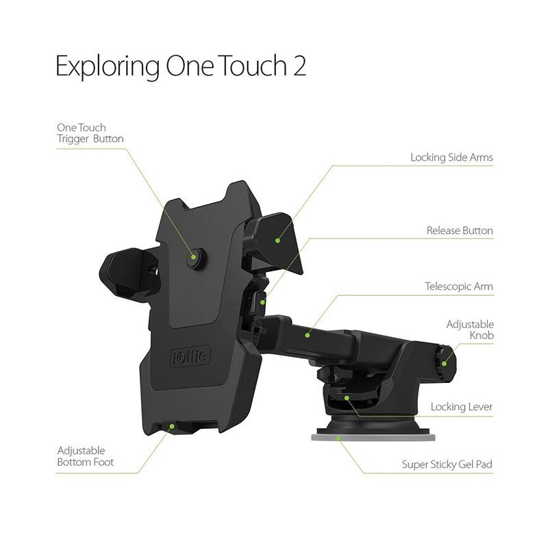 Universal CP 2 Mobile Phone Car Holder - Hitam. Brand: OEM. Rp 95,900
