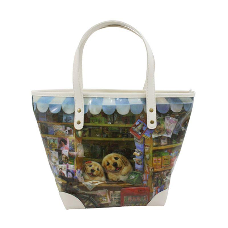 Henry Cats and Friends Fun Shop Day PVC FTB4C-25 Tote Bag Tas Tangan