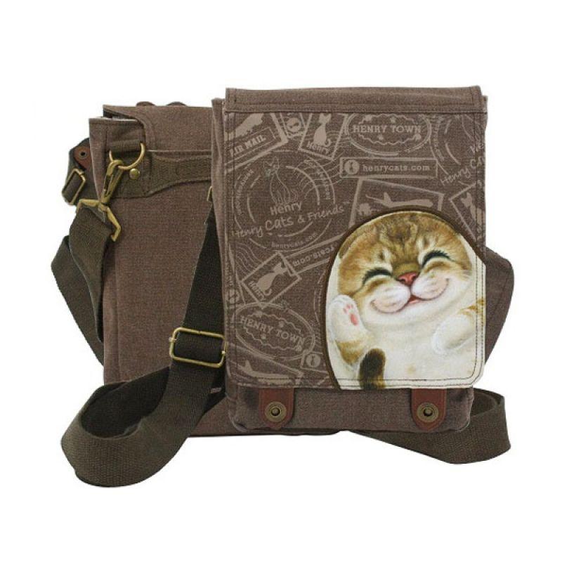 Henry Cats and Friends Bella FMB1-CA011 Messenger Bag