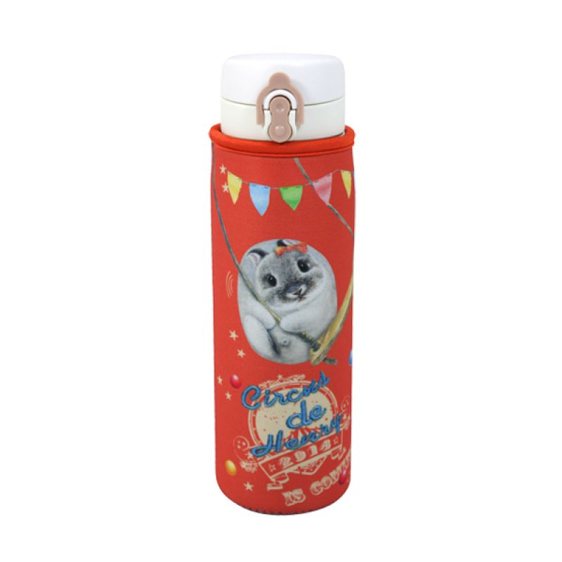 Henry Cats and Friends Circus De Henry A HVB1A-59S Vacuum Bottle Botol Minum