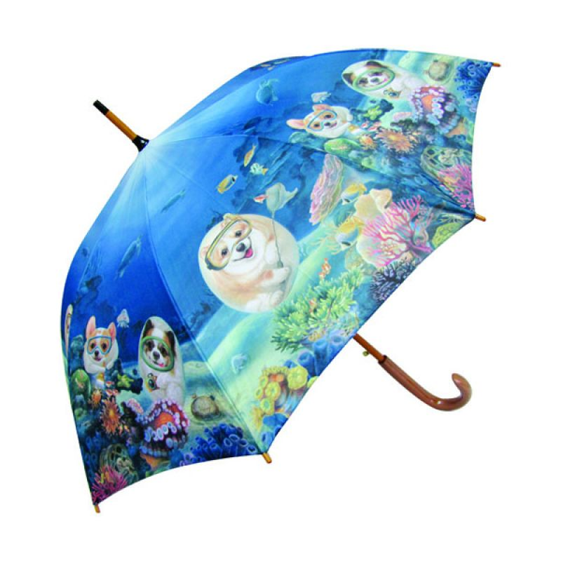 Henry Cats dan Friends Under The Sea FUM1-53 Payung