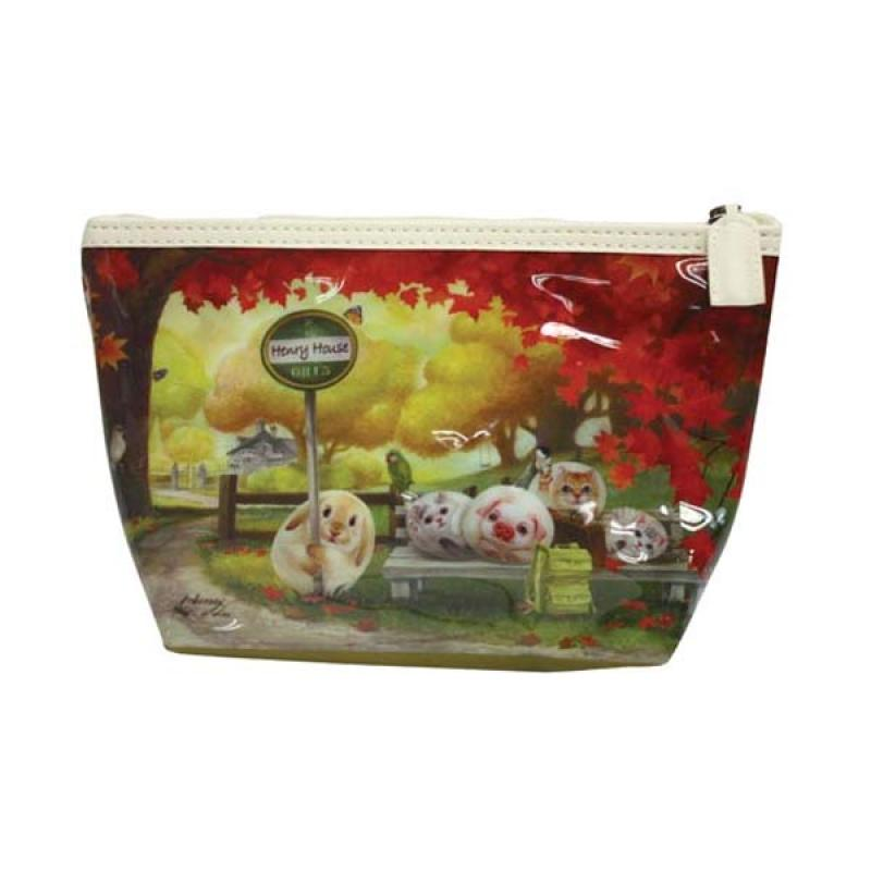Henry Cats & Friends Maple Town FMP3-56 Make Up Pouch