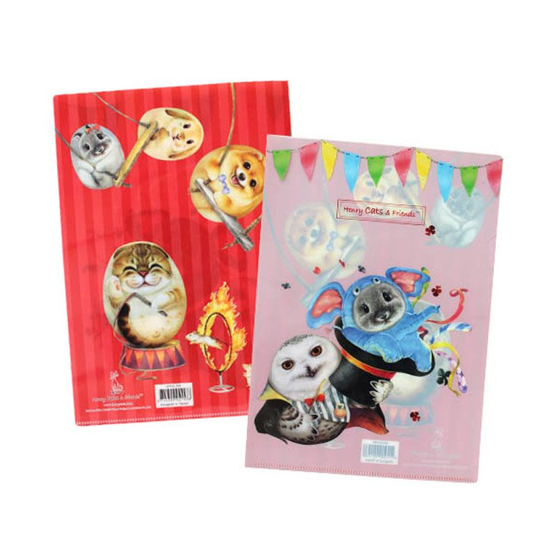 Henry Cats & Friends Circus De Henry SFF1A-59S Single Page Folder
