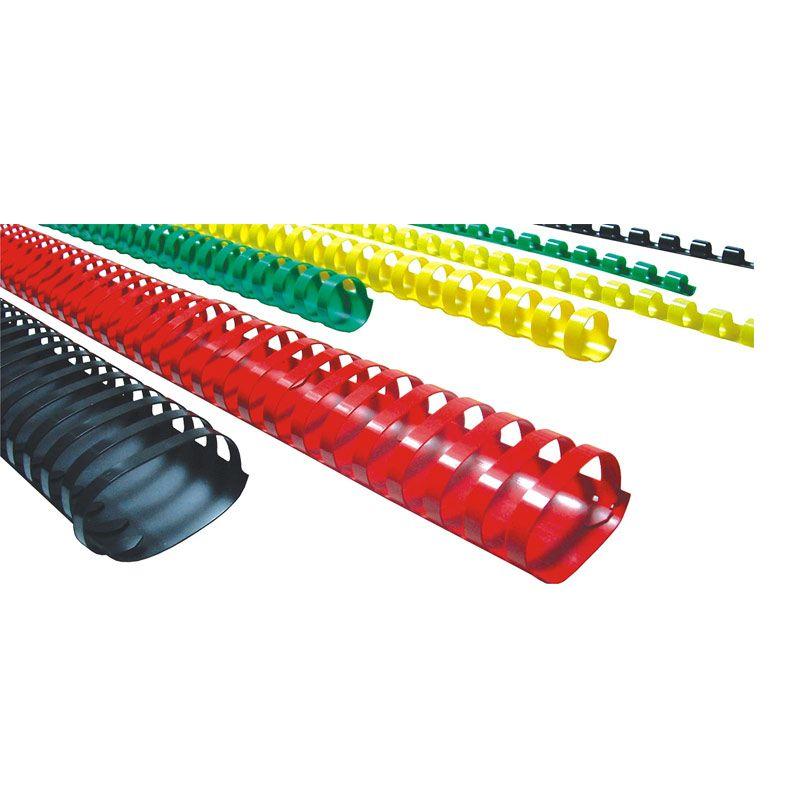 Hombo Spiral 1 1/2 Ring Plastik Binder - Multi colour