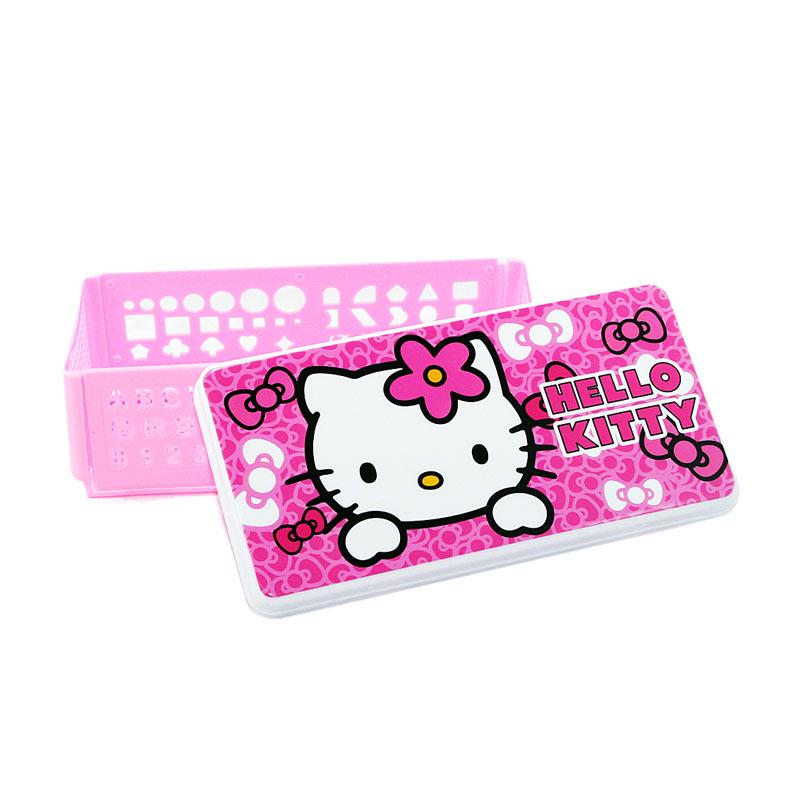 harga Ohome MS-KM35 Penggaris Cetakan Shape Ruler Hello Kitty Kotak Pensil Pencil Box Multifungsi Blibli.com