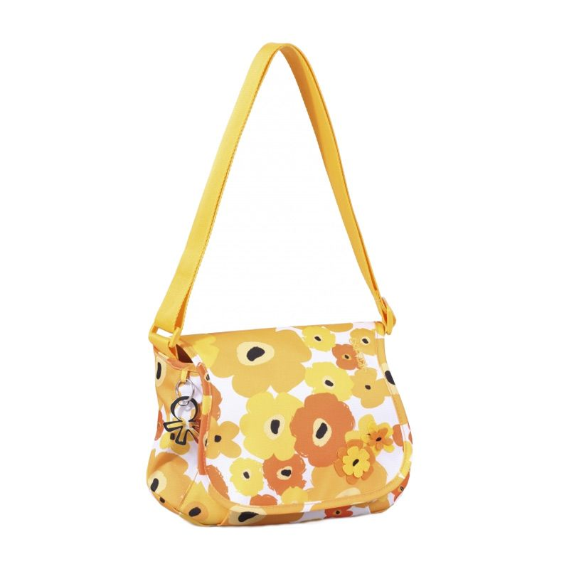 Okiedog Genie Flower Power Yellow Diaper Bag