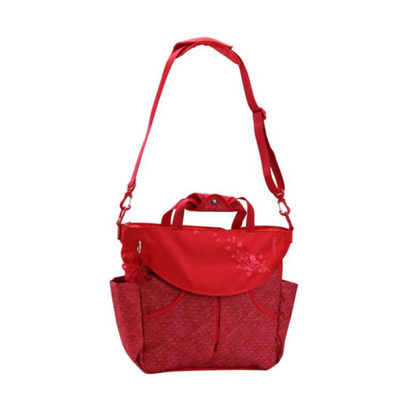 Okiedog Sakawa Sumo Red Diaper Bag