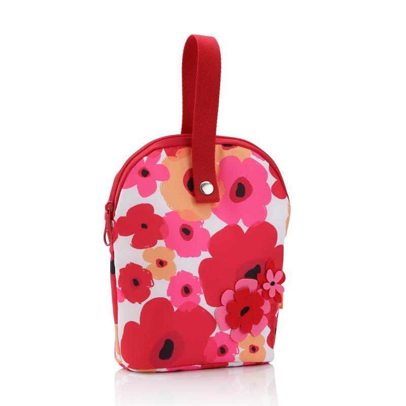 Okiedog Tandem Flower Power Red Diaper Bag