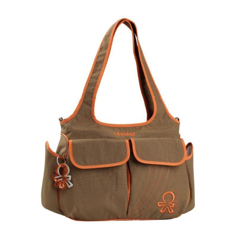 Okiedog Urban Sassy Orange Diaper Bag