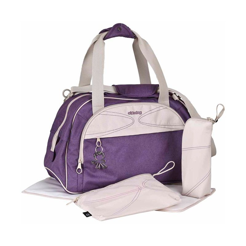 Okiedog Urban Violet Shuttle Diaper Bag