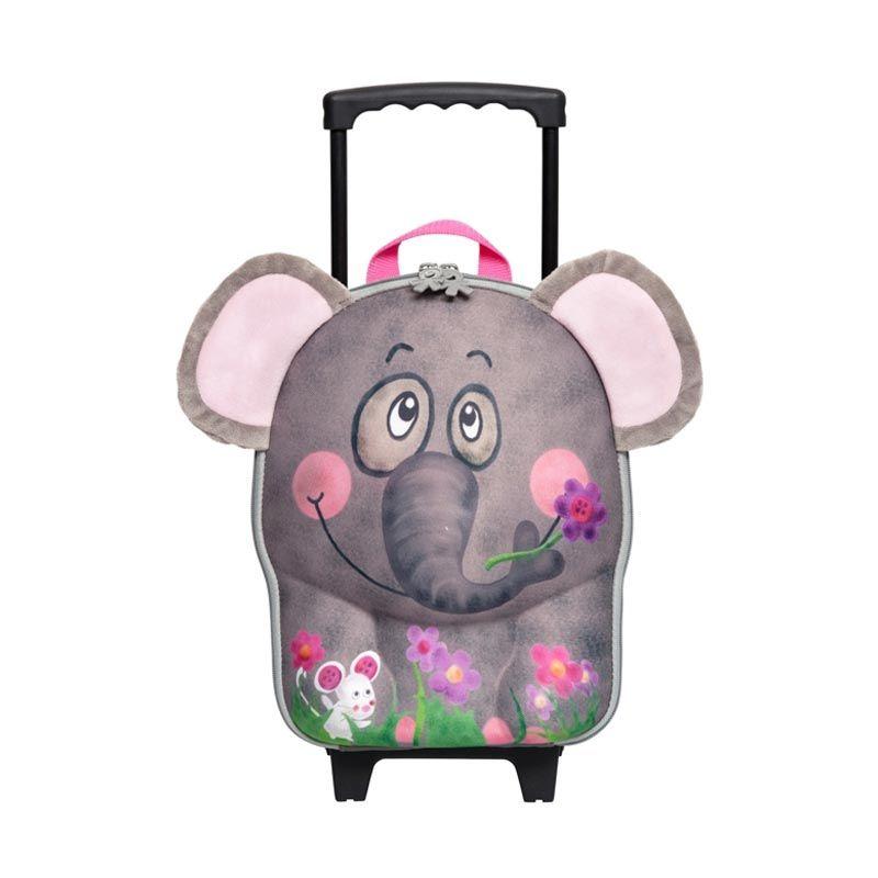 Okiedog Wildpack Trolley Elephant Tas Sekolah