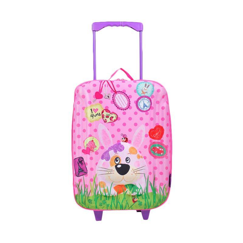 Okiedog Wildpack Trolley (L) Rabbit Tas Sekolah